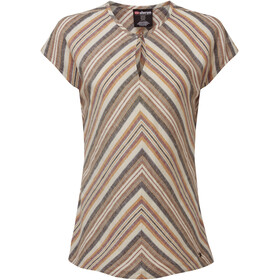 Sherpa Kiran Top Dames, multi stripe stripe